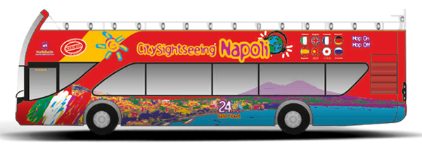 Napoli City Sightseeing bus